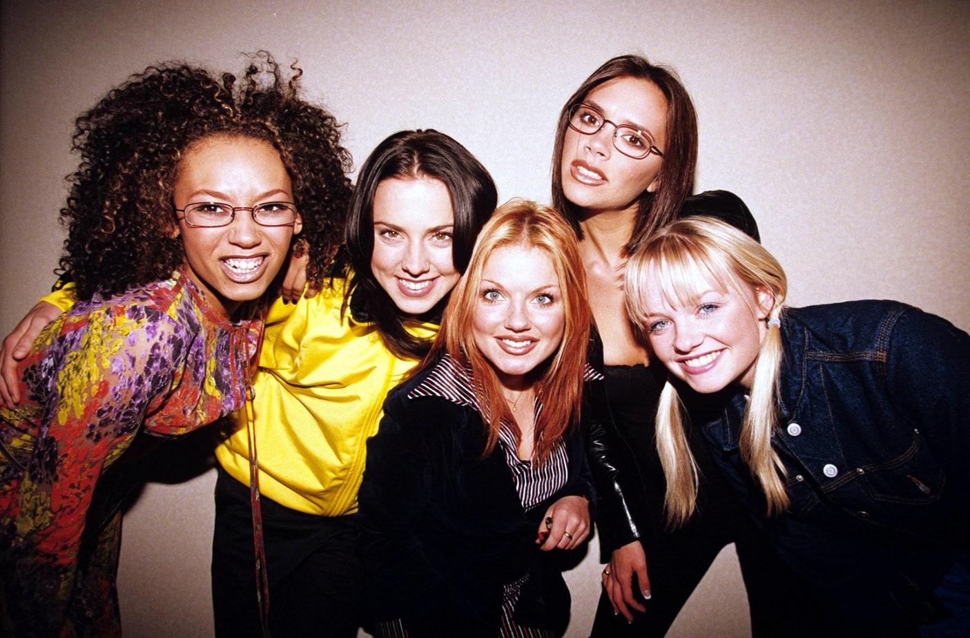 The Spice Girls – Melanie B, Melanie C, Geri Halliwell, Victoria Adams And Emma Bunton